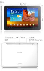 Test complet de la tablette Samsung Galaxy Tab 10.1 1