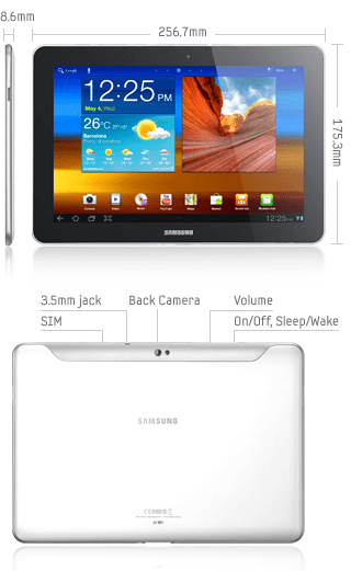 Test complet de la tablette Samsung Galaxy Tab 10.1 1