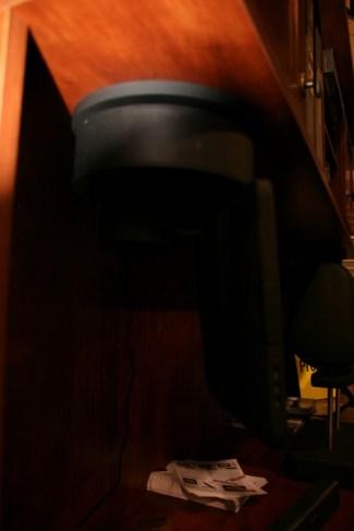 CES 2012 : Accessoire IncarBite Kitchen Mount, dock plafond pour tablette tactile 6