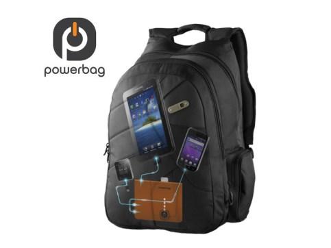 CES 2012 : Accessoire PowerBag Backbag collection,sac à dos chargeur pour tablette tactile 2