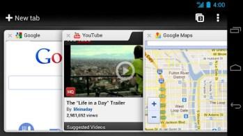 Le navigateur Google Chrome pour Android est disponible en version bêta 2