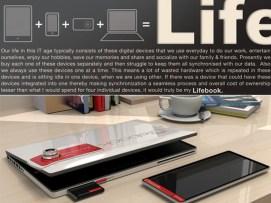 Concept Tablette tactile : Fujitsu détonne avec un nouveau prototype 4 en 1, le Fujitsu Lifebook 1