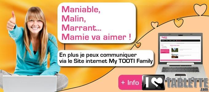 Tablette TOOTI Family : la tablette tactile pour les séniors qui connecte les générations entre elles ! 5