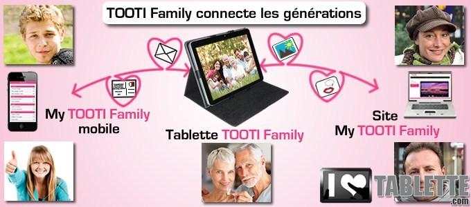 Tablette TOOTI Family : la tablette tactile pour les séniors qui connecte les générations entre elles ! 4