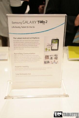 La tablette Samsung Galaxy Tab 2 au format 7 pouces débarque en France 6