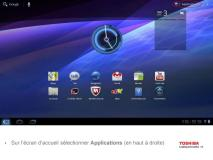 Toshiba AT200 : mise à jour vers Android 4 IceCream sandwich dès aujourd'hui 3