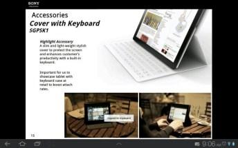 Une tablette Sony Xperia en préparation ? 7