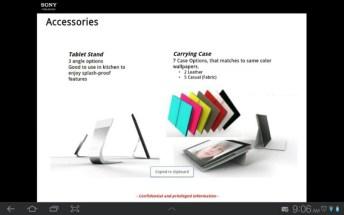 Une tablette Sony Xperia en préparation ? 10