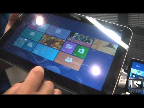 Prise en main de la Tablette PC HP Envy X2 sous windows 8 Pro 15