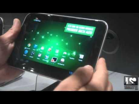Vidéo tablette Android Toshiba AT270 & AT300 lors de l'IFA de Berlin 1