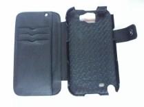 Test housse en cuir de protection Norêve pour Samsung Galaxy Note 2 1