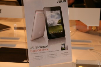 [MWC 2013] Prise en main de la tablette Asus FonePad 6