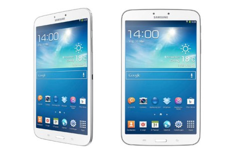 Samsung officialise les tablettes Galaxy Tab 3 au format 8 et 10.1 pouces 1