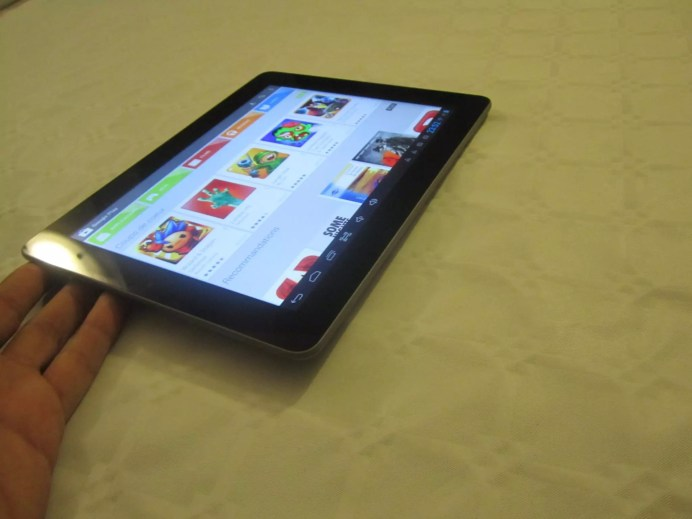 Test de la tablette Memup Slidepad 9716 Elite 15