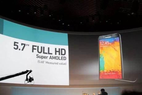 Samsung Galaxy Note 3 : caractéristiques, photos et vidéo de prise en main 9