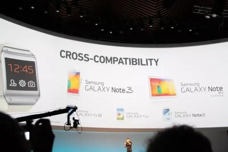 Samsung Galaxy Gear : caractéristiques, photos et vidéo de prise en main (poignet !) 9