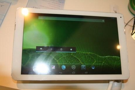 [IFA 2013] Tablette Haier Pad 10 pouces présentée au cours de l'IFA 2