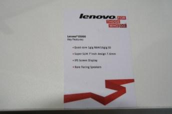 IFA 2013 : Lenovo IdeaTab S5000, une tablette 7 pouces sous Android 8