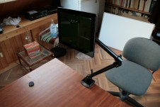 Test support et bras articulé pour iPad : Joyfactory Tube Tournez C-Clamp Mount 10