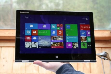 Test du Lenovo IdeaTab Yoga 2 Pro 14
