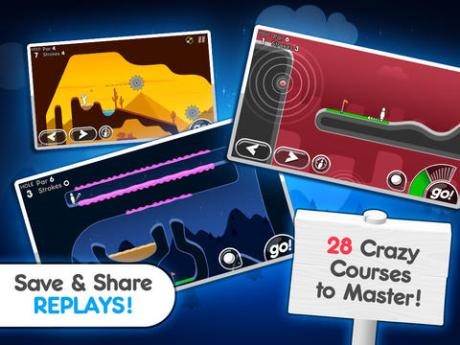 Faites du golf rigolo sur tablettes avec Super Stickman Golf 2 3