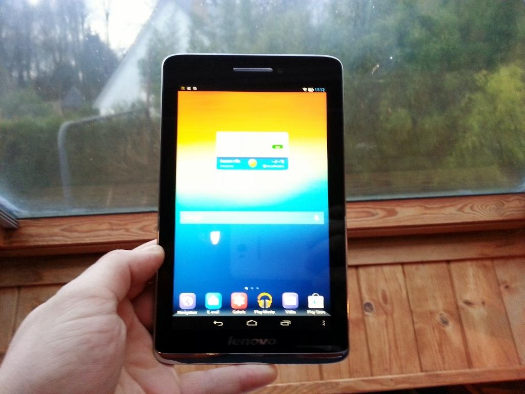 Test De La Tablette Lenovo S5000 Photos