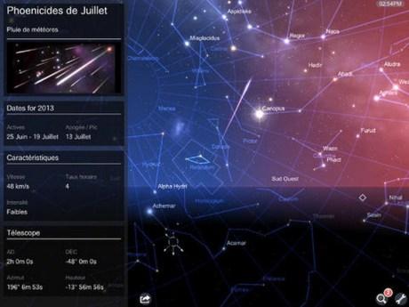 [Gratuit Temporairement] La tête dans les étoiles avec Star Chart Solar Tour sur iPad 5