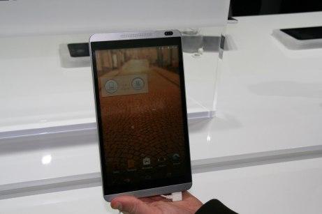 [MWC 2014] Présentation de la tablette Huawei MediaPad M1 8.0 et MediaPad Youth 2 2