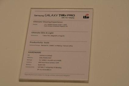 [MWC 2014] Vidéo de la tablette Samsung Galaxy Tab Pro 10.1 8