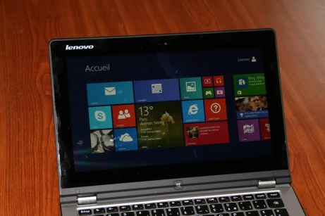 Test de la tablette PC Lenovo Yoga 2 9