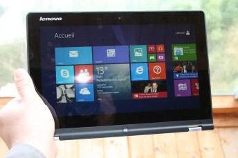 Test de la tablette PC Lenovo Yoga 2 15