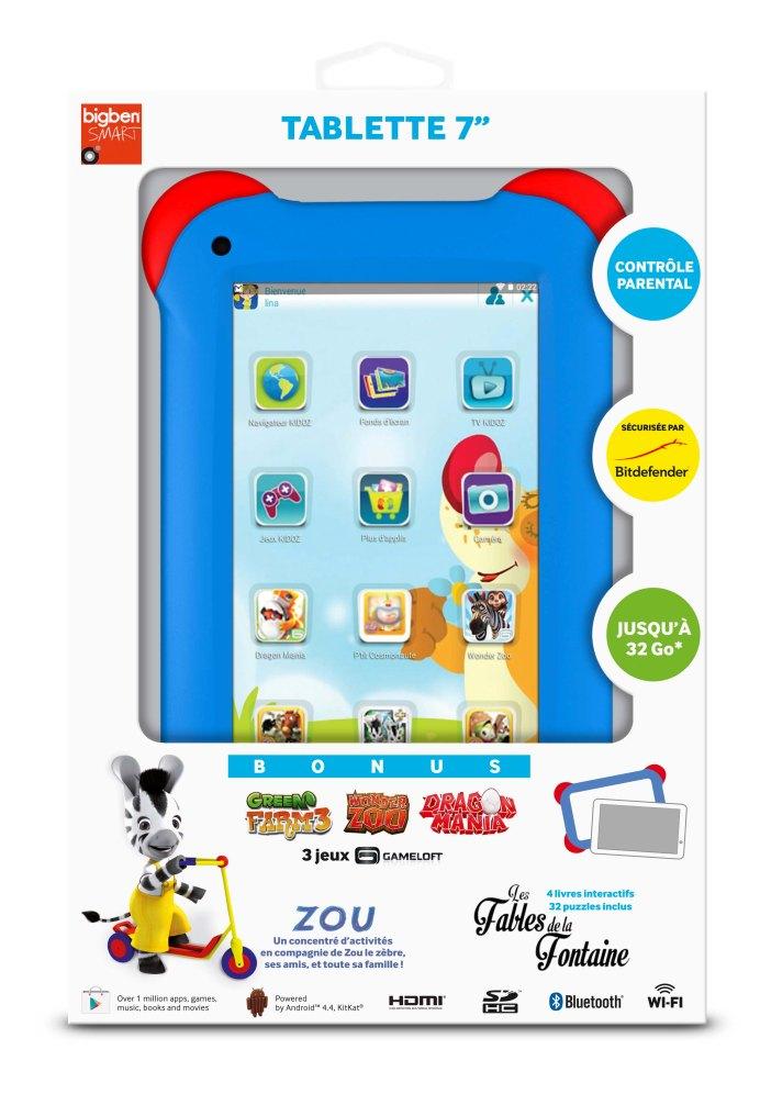 Bigben Interactive dévoile sa première tablette enfant de 7 pouces 7