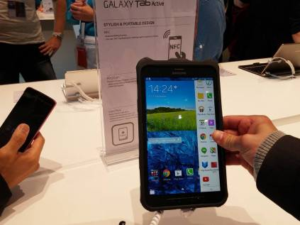 [IFA 2014] Tablette Samsung Galaxy Tab Active pour plus de robustesse 16