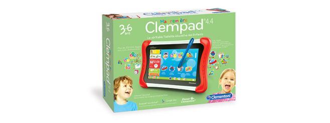 Les nouvelles tablettes pour enfants de Clementoni 3