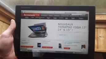 Test de la tablette Lenovo Miix 3 3