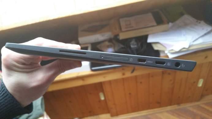 Test de la tablette Lenovo Miix 3 7
