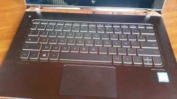 Test HP spectre clavier