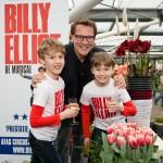 Billy Elliot zet de bloemetjes buiten in Keukenhof