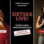 Floortje Smit toegevoegd aan line-up 'SIETSKE LIVE!'