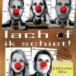 Alexandra Alphenaar, Anouk van Nes, Ara Halici, Hein Gerrits en Daphne Flint vanaf morgen te zien zijn in de in nieuwe comedy Lach of ik schiet.