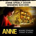 Theatervoorstelling ANNE komt terug in april 2016