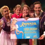 Rapunzel De Musical verwelkomt 100.000ste bezoeker