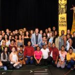 Repetities Disney's The Lion King in volle gang