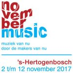 25e editie November Music vol muziekinnovatie