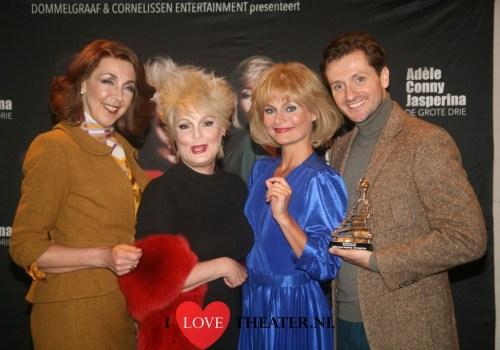 Pers presentatie musical Adèle Conny Jasperina – De Grote Drie in DeLaMar theater – FotoReportage