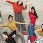 Zeven danseressen in Crosstown met uitermate veel talent.