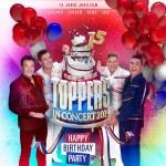 Toppers vieren jubileumjaar 15 jaar Toppers in Concert groots