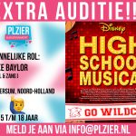EXTRA MANNEN AUDITIE DISNEY'S HIGH SCHOOL MUSICAL