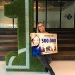 Mel Wallis de Vries ontvangt Achievement Award