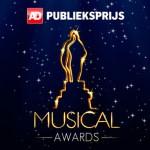 ANASTASIA, Kinky Boots, Lazarus, MAMMA MIA! en Soldaat van Oranje – de Musical in de top 5  van het AD Publieksprijs